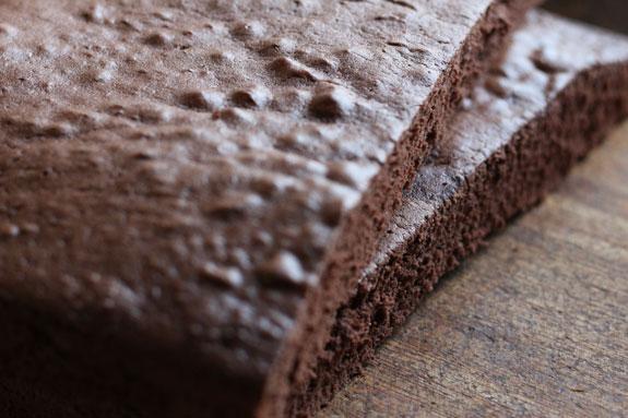 Шоколадный бисквит: пошаговый фото-рецепт