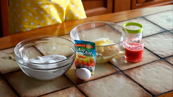 Ингредиенты для приготовления клубничного... Клубничный зефир: пошаговый фото-рецепт