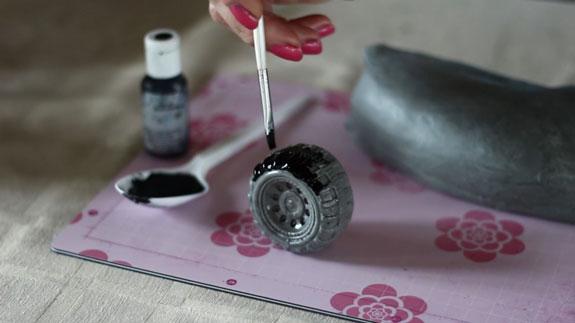 Как сделать машинку из мастики для торта своими руками в домашних условиях 96