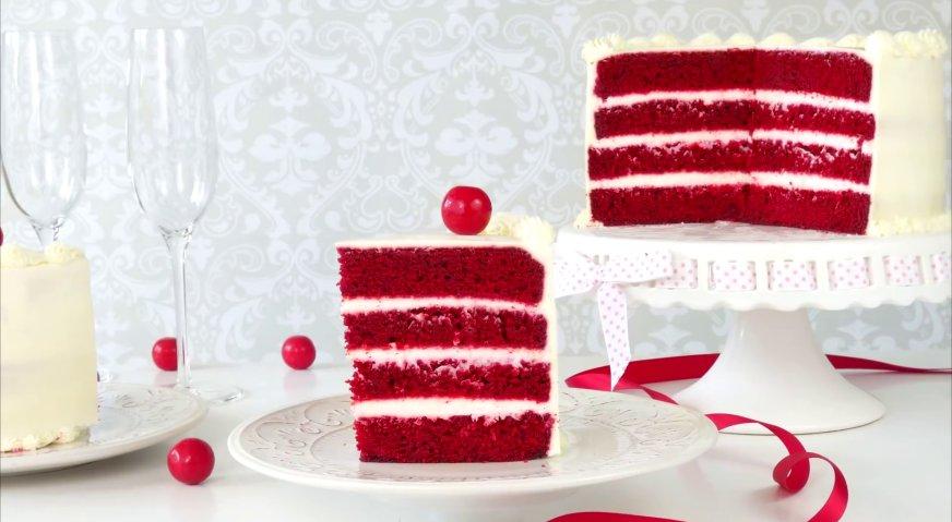 Торт красный бархат пошаговый рецепт в домашних условиях