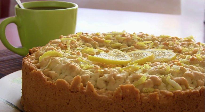 Лимонный пирог пошаговый рецепт в домашних условиях
