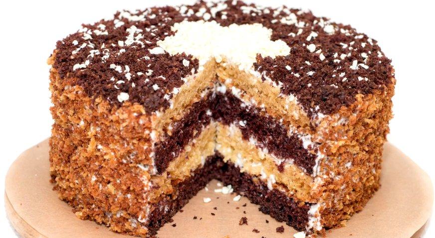 Сметанный торт пошаговый рецепт в домашних условиях