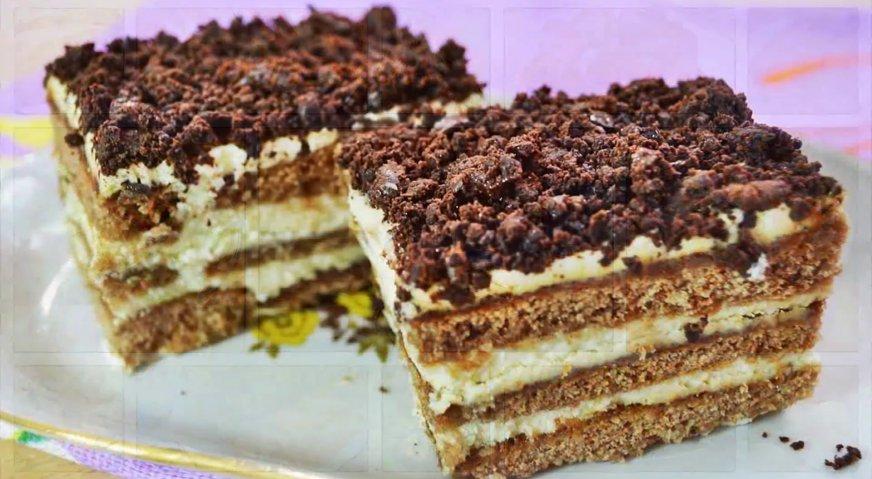 Торт из пряников пошаговый рецепт в домашних условиях