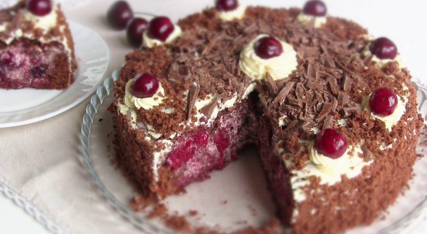 Торт пьяная вишня пошаговый рецепт в домашних условиях