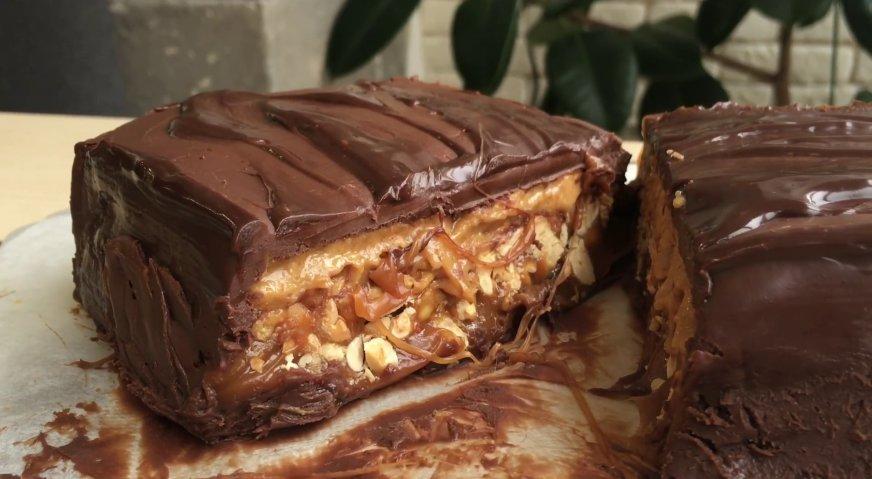Торт сникерс пошаговый рецепт в домашних условиях