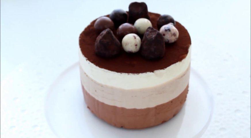 Торт три шоколада пошаговый рецепт в домашних условиях