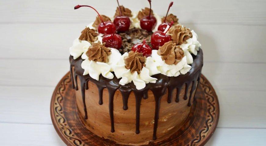 Торт черный лес пошаговый рецепт в домашних условиях