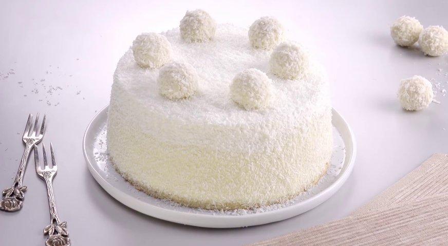 Торт рафаэлло пошаговый рецепт в домашних условиях