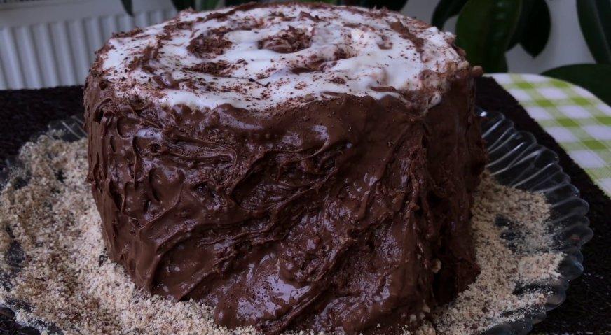 Торт трухлявый пень пошаговый рецепт в домашних условиях