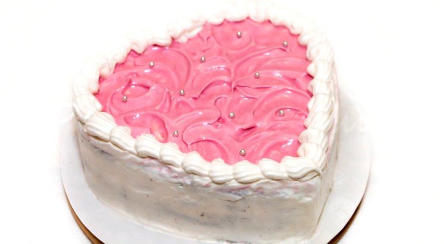Торт сердце пошаговый рецепт в домашних условиях