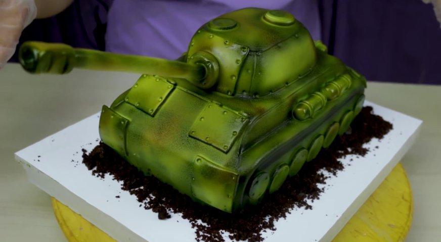 Торт танк пошаговый рецепт в домашних условиях