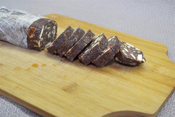 Простой рецепт Шоколадной Колбасы - вкусный и быстрый в приготовлении десерт пошаговый рецепт в домашних условиях