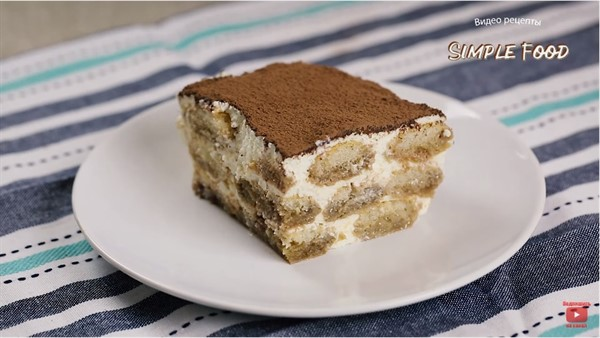 Торт с печеньем савоярди и маскарпоне пошаговый рецепт в домашних условиях