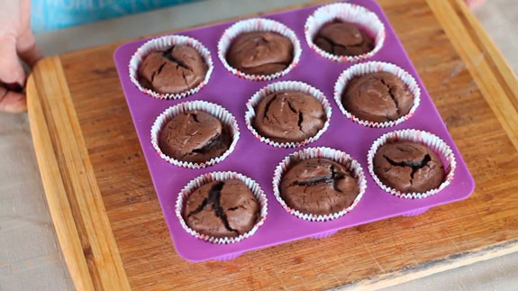 Шоколадный фондан: пошаговый фото-рецепт
