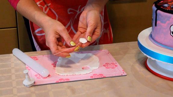 В каждый цветочек вставляем проволоку,... Торт Птичье молоко: пошаговый фото-рецепт
