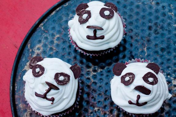 Маффины мишки панда