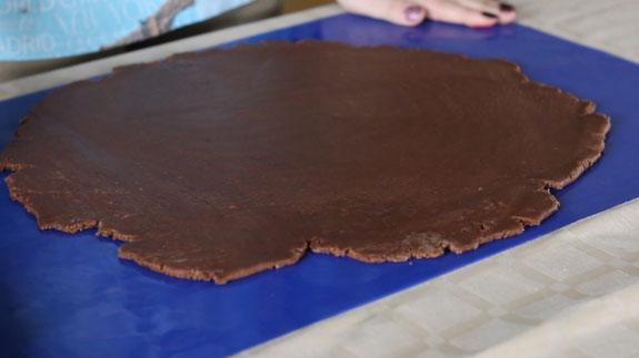 Раскатываем тесто для пряников толщиной 1 см.... Имбирный пряник Шкатулка: пошаговый фото-рецепт