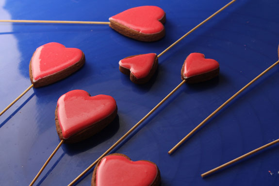 Даем подсохнуть готовым пряникам 1,5-2... Пряники имбирные Валентинки: пошаговый фото-рецепт