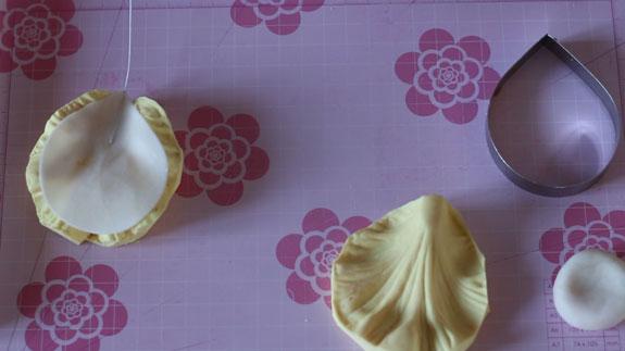 Придаем текстуру лепестку тюльпана с помощью... Кейк Попс пирожное на палочке: пошаговый фото-рецепт