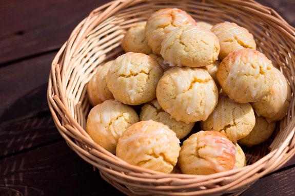 Печенье творожные шарики