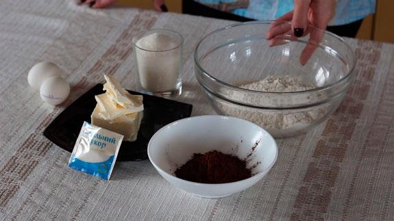 Ингредиенты. Печенье Бабочки: пошаговый фото-рецепт