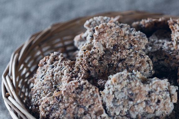 Веганское овсяное печенье