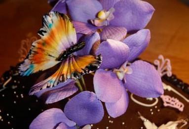 Сахарная мастика для изготовления цветов