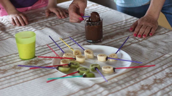 Шоколадные фрукты: пошаговый фото-рецепт