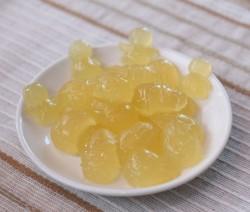 Желейные конфеты со вкусом лимона