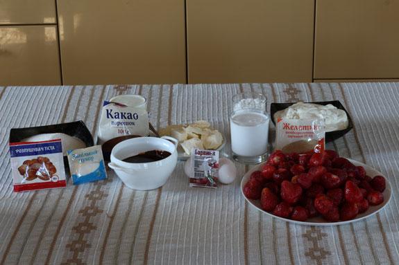 Ингредиенты, необходимые чтобы приготовить... Голый торт: пошаговый фото-рецепт