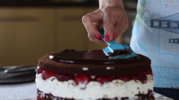 Декорируем голый торт... Голый торт: пошаговый фото-рецепт