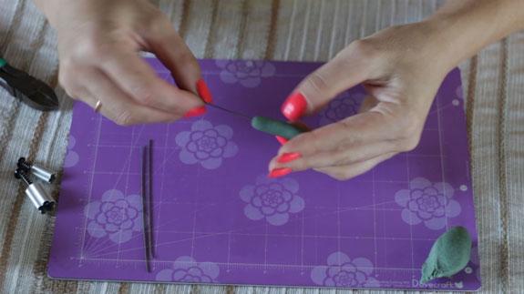 Как сделать ландыш из мастики: пошаговый фото-рецепт. Изготавливаем листья