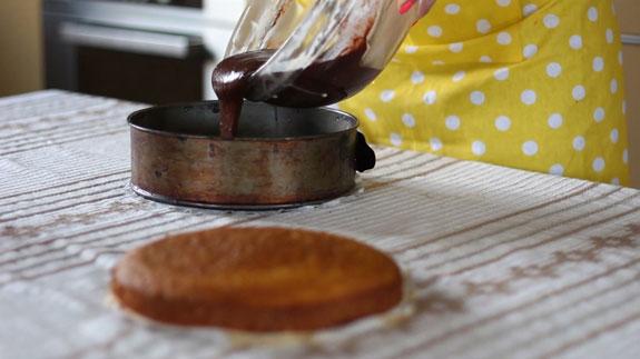 Выпекаем шоколадное тесто в форме того же... Торт Панчо: пошаговый фото-рецепт