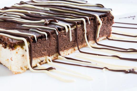 Шоколадно-ванильный львовский сырник