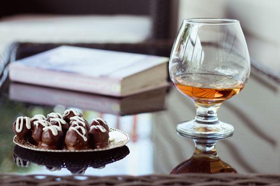 Конфеты Пьяная вишня в шоколаде