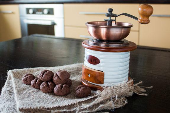 Печенье Кофейные зерна: пошаговый фото-рецепт