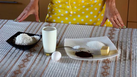 Ингредиенты. Кофейные панкейки: пошаговый фото-рецепт