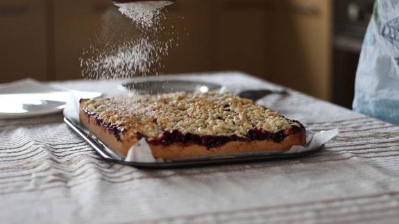 Венское печенье с вишневым конфитюром: пошаговый фото-рецепт