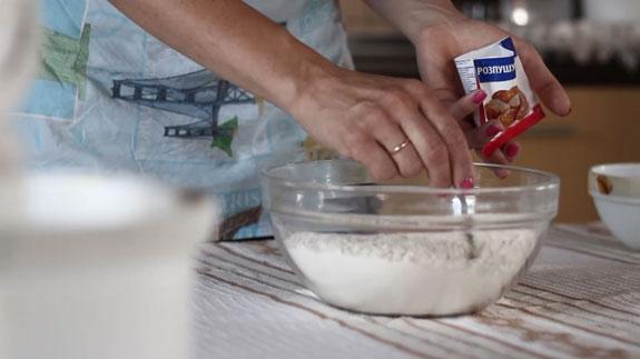 Соединяем сухие ингредиенты. Венское печенье с вишневым конфитюром: пошаговый фото-рецепт