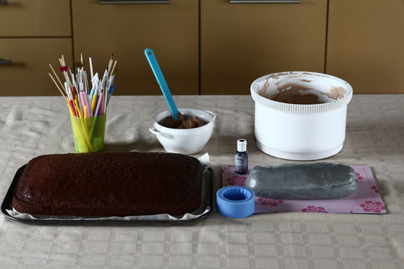 Торт машинка своими руками