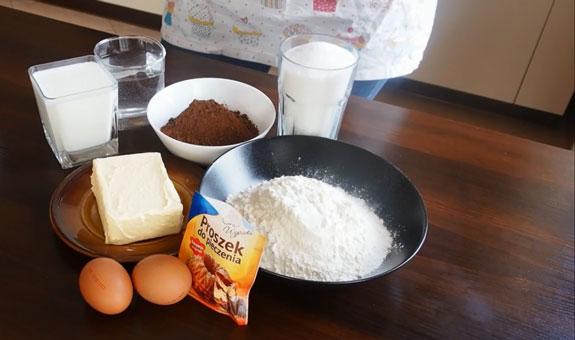 Ингредиенты для торта Вупи... Торт Вупи пай (whoopie pie): пошаговый фото-рецепт
