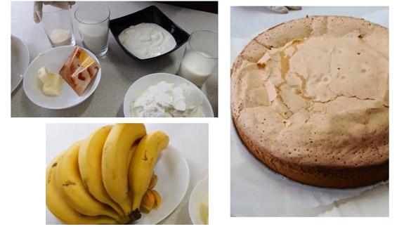 Ингредиенты для бананового торта:... Банановый торт: пошаговый фото-рецепт