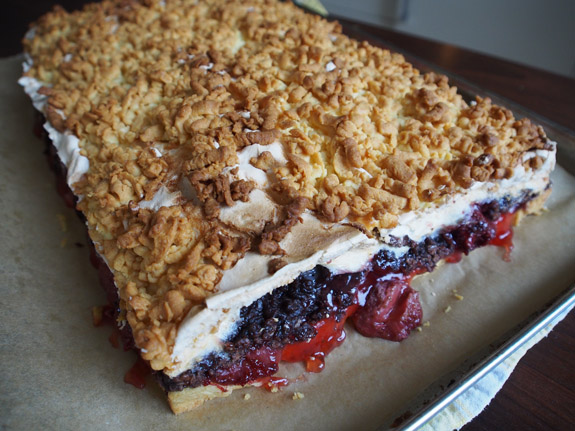 Польский пирог Плесняк пошаговый рецепт в домашних условиях