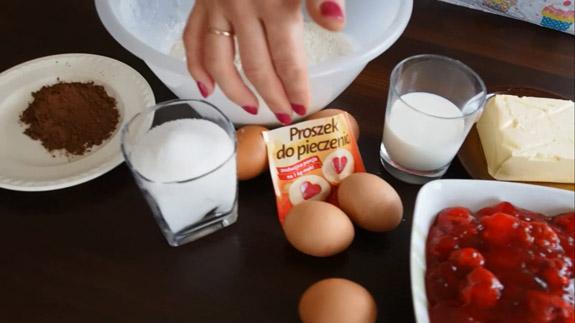 Ингредиенты для Польского пирога Плесняк:... Польский пирог Плесняк: пошаговый фото-рецепт