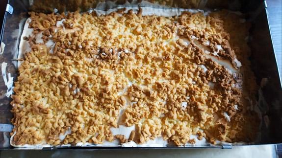 Польский пирог Плесняк (Плешняк) готов!... Польский пирог Плесняк: пошаговый фото-рецепт