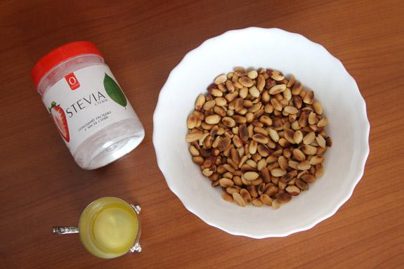 Ингредиенты. Арахисовая паста: пошаговый фото-рецепт