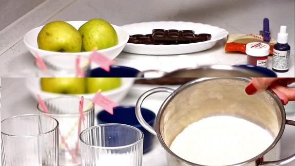 Ингредиенты. Белковый десерт: пошаговый фото-рецепт