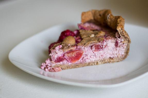 Черешневый тарт рцепт