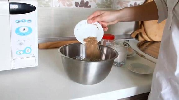 Добавляем льняную и миндальную муку. Черешневый тарт: пошаговый фото-рецепт