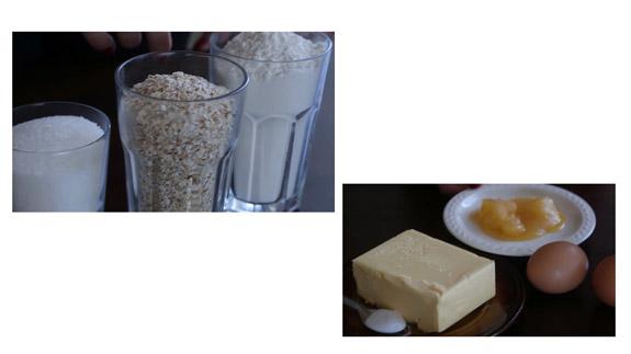Ингредиенты. Овсяное печенье: пошаговый фото-рецепт